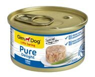 "Gimdog Pure Delight ""тунец"" д/собак, 85г (513157)"