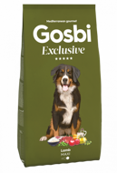 Gosbi Exclusive Maxi Lamb Госби для собак крупных пород ягненок, 12 кг