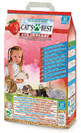 CATS BEST Universal Strawberry Кэтс Бест Универсал с ароматом клубники, 5,5 кг