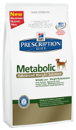 Hills Prescription Diet Canine Metabolic Хиллс метоболик для собак снижение и поддержания оптимального веса, 4 кг