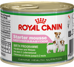 Royal Canin CW Starter Mousse (ПАШТЕТ) Роял Канин Стартер, ж/б 195 г