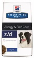 Hills Prescription Diet Canine z/d Allergen-Free Хиллс  z/d для собак  лечение острых пищевых аллергий, 10 кг