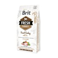 Brit Fresh Light Fit & Slim Turkey Pea Брит Фреш Лайт для собак всех пород контроль веса индейка горох, 12 кг (530793)