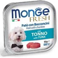 Monge Dog Fresh консервы для собак тунец 100г (70013017)